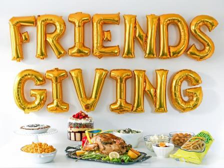 """Annual """"FRIENDSgiving"""" dinner!"""