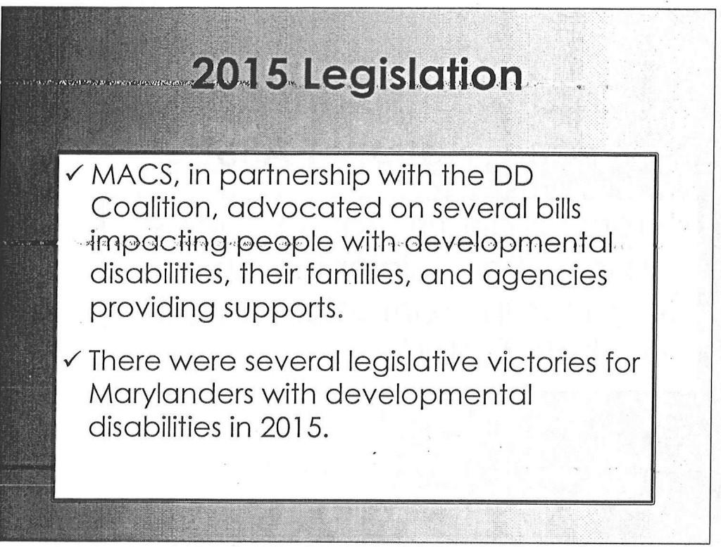 2015 Legislation
