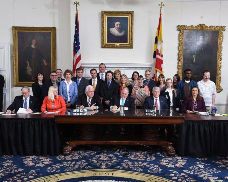 Maryland ABLE Bill Signed into Law!