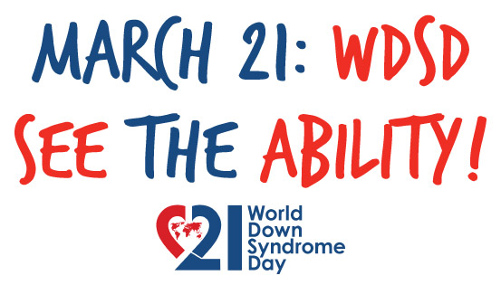 World Down Syndrome Day Poster Campaign